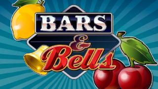 bars and bells slot logo