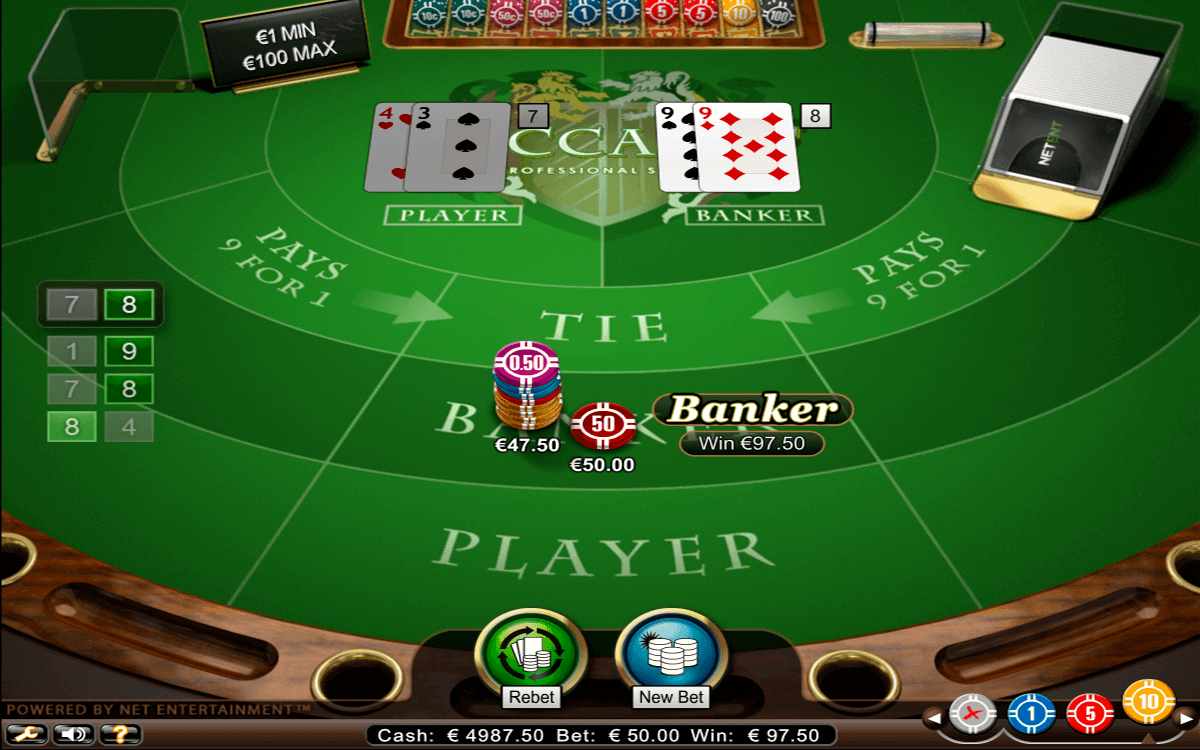 Baccarat Online: Gameplay and Rules - Slotsday.com