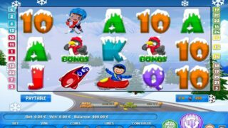 winter sports screenshot