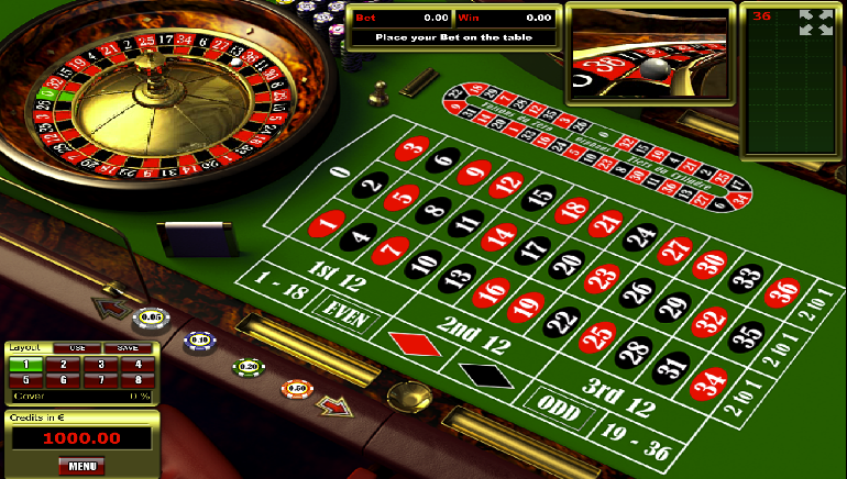 Variations of Roulette intext